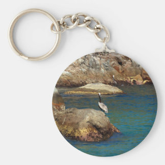 Pelican Perch Key Ring
