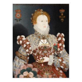 Pelican Portrait Queen Elizabeth I Postcard