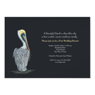 Pelican Post Wedding Brunch Invitation