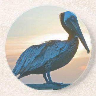 Pelican Sunrise Coaster