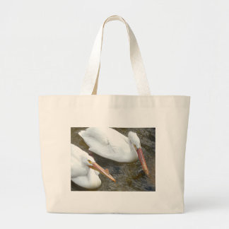 pelicans, 2 canvas bag
