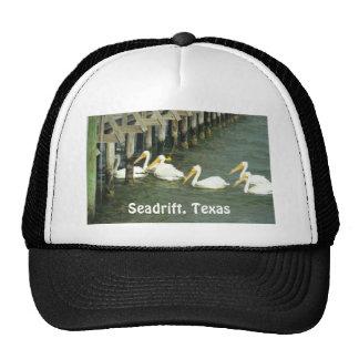 Pelicans Crossing, Seadrift, Texas Cap