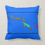 Pelicans & Seagull Art Pillow