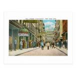 Pell Street, Chinatown, New York Postcard