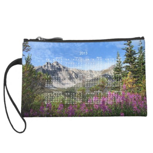 Pelly Mountain Vista; 2013 Calendar Wristlets