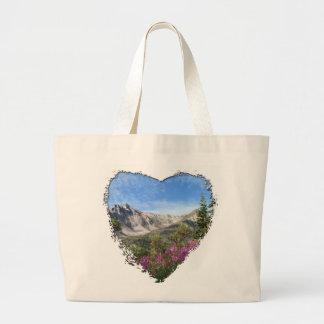Pelly Mountain Vista Canvas Bags