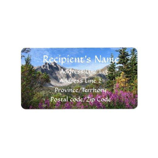 Pelly Mountain Vista Label