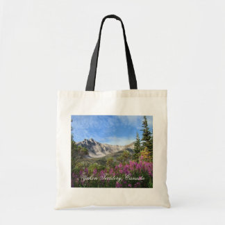 Pelly Mountain Vista; Yukon Territory, Canada Budget Tote Bag