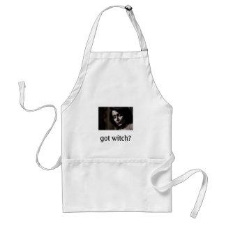 Pelosi-got witch? adult apron
