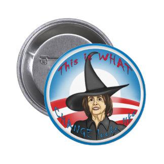 Pelosi: Looks like Change 6 Cm Round Badge