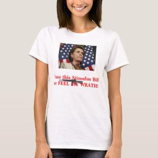Pelosi-Pass the Stimulus T-Shirt