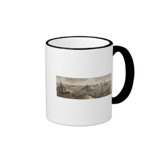 Pelsaert Sets Sail   Way Between Islands, Coffee Mug