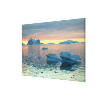 Peltier Channel in the last light of the day Canvas Print