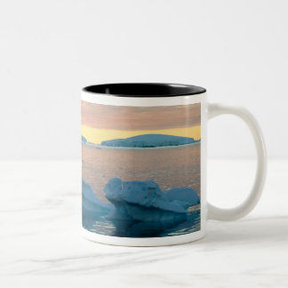 Peltier Channel in the last light of the day Two-Tone Coffee Mug