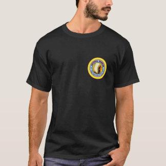 PELTIER Marbles Black Shirt