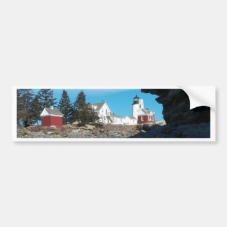 Pemaquid light 22 bumper sticker