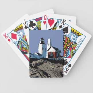 PEMAQUID POINT LIGHT BICYCLE PLAYING CARDS