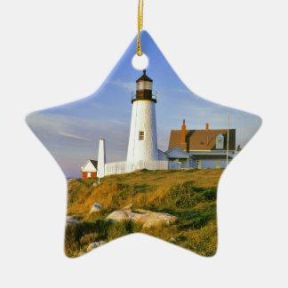 Pemaquid Point Lighthouse Christmas Ornament
