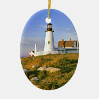 Pemaquid Point Lighthouse Christmas Ornament