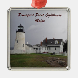 Pemaquid Point Lighthouse, Maine Christmas Ornament