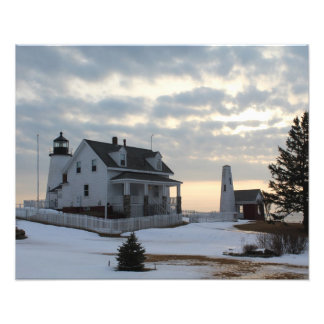 Pemaquid Point Lighthouse Photo Print