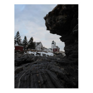 Pemaquid Point Lighthouse Postcard
