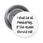 Pemberley 6 Cm Round Badge