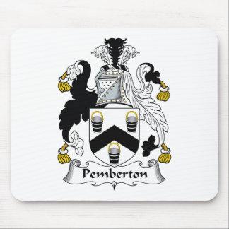 Pemberton Family Crest Mouse Mat