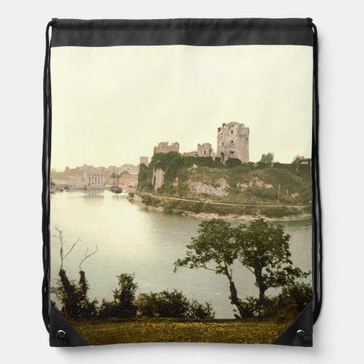 Pembroke Castle, Pembrokeshire, Wales Backpacks