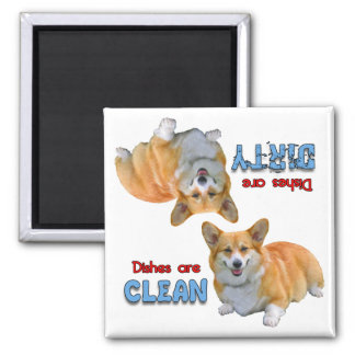 Pembroke Corgi Dog Lovers Dishwasher Magnet
