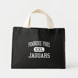 Pembroke Pines - Jaguars - Pembroke Pines Canvas Bag