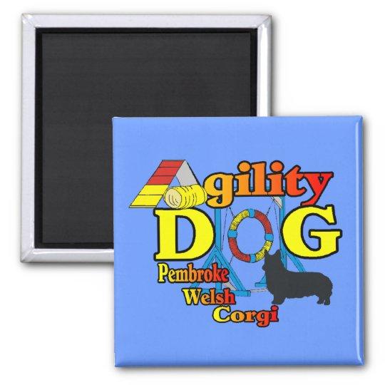Pembroke Welsh Corgi Agility Shirts Gifts Magnet