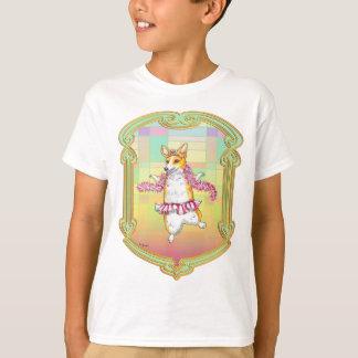 Pembroke Welsh Corgi Ballerina T-Shirt