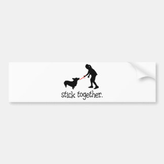 Pembroke Welsh Corgi Bumper Sticker