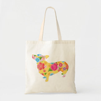 Pembroke Welsh Corgi Canvas Bags