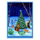 Pembroke Welsh Corgi Christmas Card