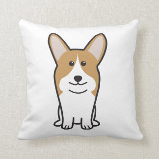 Pembroke Welsh Corgi Dog Cartoon Cushion