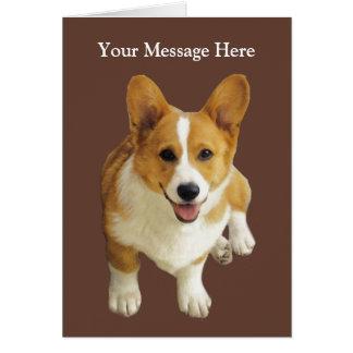 Pembroke Welsh Corgi Happy Greeting Card