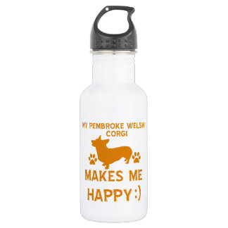 pembroke welsh corgi items 532 ml water bottle