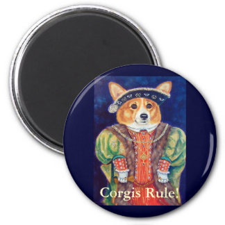 Pembroke Welsh Corgi King Magnets