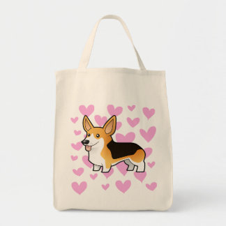Pembroke Welsh Corgi Love Tote Bag
