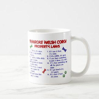 PEMBROKE WELSH CORGI PL2 COFFEE MUG