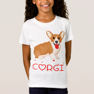 Pembroke Welsh Corgi Puppy Dog Cartoon T-Shirt