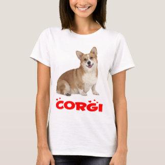 Pembroke Welsh Corgi Puppy Dog Red Love Ladies T-Shirt