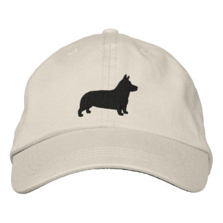Pembroke Welsh Corgi Silhouette Embroidered Hat