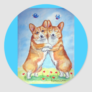 Pembroke Welsh Corgi Stickers
