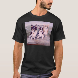 Pembroke Welsh Corgis Painting T-Shirt