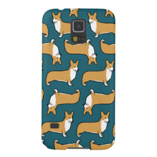 Pembroke Welsh Corgis Pattern Galaxy S5 Covers