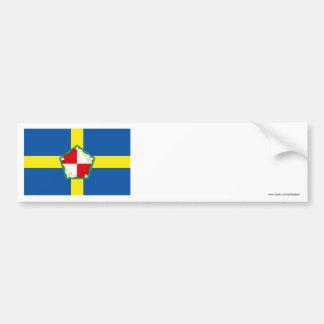 Pembrokeshire Flag Bumper Sticker