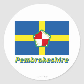 Pembrokeshire Flag with Name Stickers